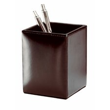 <strong>Dacasso</strong> Bonded Leather Pencil Cup