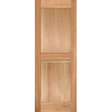 <strong>Shutters By Design</strong> Flat Stain Grade Wood Panel Heavy Duty Shutter