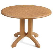 <strong>Grosfillex Commercial Resin Furniture</strong> Winston Dining Table