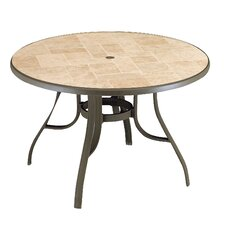 <strong>Grosfillex Commercial Resin Furniture</strong> Toscana Dining Table