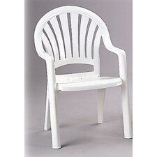 <strong>Grosfillex Commercial Resin Furniture</strong> Pacific Dining Arm Chair
