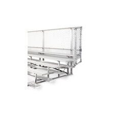 <strong>All Star Bleachers</strong> 5 Row Angle Frame Bleachers