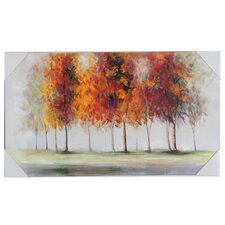 Autumn Trees Canvas Art
