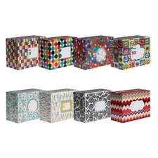 Decorative Mailing Box (8 Piece)