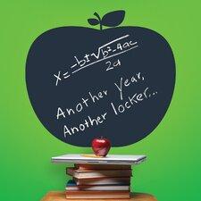 "Big Apple 1' 6"" x 1' 10"" Chalkboard"