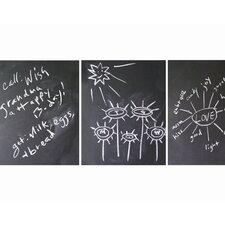<strong>WallCandy Arts</strong> Chalkboards Wall Decal (Set of 3)