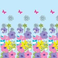 Happy Flowers Wall Decal