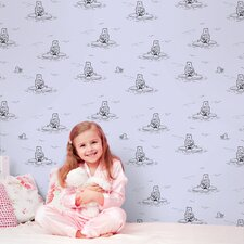 Polar Bears Removable Wallpaper