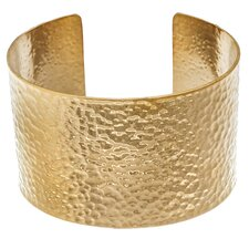 <strong>Lesa Michelle</strong> Hammered Cuff Bangle Bracelet