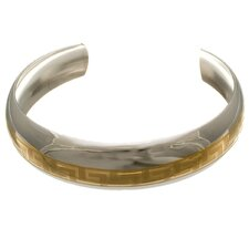 Greek Key Bangle Bracelet