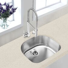 "<strong>Hahn</strong> Classic Chef Series 23.38"" x 21"" 70/30 Double Bowl Kitchen Sink"