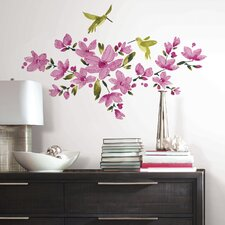 <strong>RoomMates</strong> Flowering Vine Wall Stickers