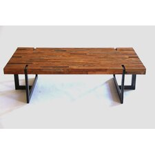 Naturals Planque Tri-Steel Coffee Table