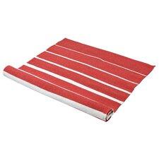 Degrade Red Plain Rug