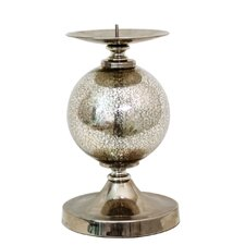 Glass Ball Candlestick