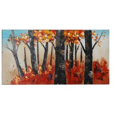 Tuscan Forest Long Canvas Art