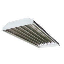 6 Light High Bay Fluorescent Light Fixture