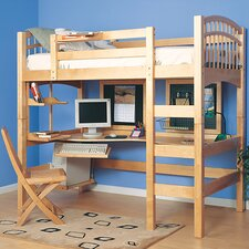 Mckenzie Loft Bed with Ladder
