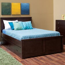 Peyton Full Panel Bed with Storage Trundle