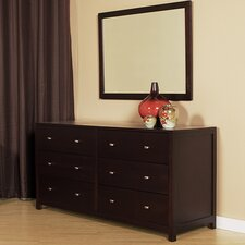 Pacifica 6 Drawer Dresser