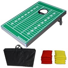 <strong>GoSports</strong> Football Edition CornHole Bean Bag Toss Game Set