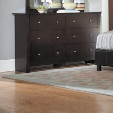 Avelar 6 Drawer Dresser