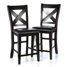 "Crown Point 25"" Bar Stool (Set of 2)"