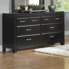 1357 Series 6 Drawer Dresser