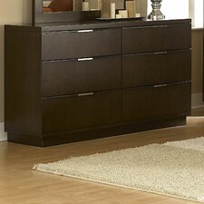 Cologne 6 Drawer Dresser
