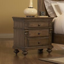 Eastover 3 Drawer Nightstand
