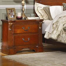 Legacy 2 Drawer Nightstand