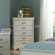 <strong>Woodbridge Home Designs</strong> Marianne 5 Drawer Chest