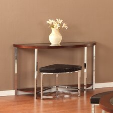 Maine Console Table with Ottoman