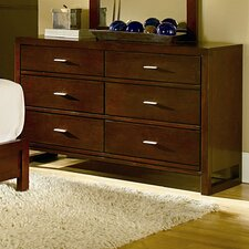 Paula II 6 Drawer Dresser