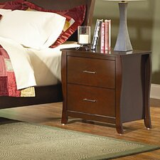 Rivera 2 Drawer Nightstand