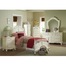 <strong>Woodbridge Home Designs</strong> 1386 Series Panel Bed