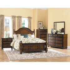 Langston Four Poster Bedroom Collection