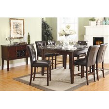 Decatur 7 Piece Counter Height Dining Set