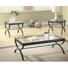 Claro 3 Piece Coffee Table Set
