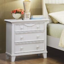 <strong>Woodbridge Home Designs</strong> Alyssa 3 Drawer Nightstand