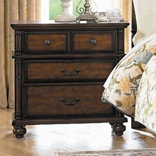 Langston 4 Drawer Nightstand