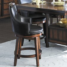 "Bayshore 24"" Swivel Bar Stool (Set of 2)"