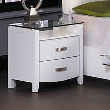 Lyric 2 Drawer Nightstand
