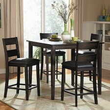 <strong>Woodbridge Home Designs</strong> Griffin 5 Piece Counter Height Dining Set