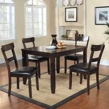 <strong>Woodbridge Home Designs</strong> Oklahoma 5 Piece Dining Set