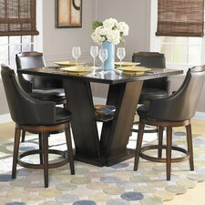 <strong>Woodbridge Home Designs</strong> Bayshore 5 Piece Counter Height Dining Set