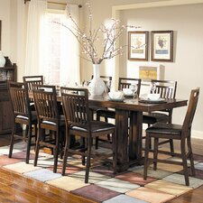 <strong>Woodbridge Home Designs</strong> Everett 9 Piece Counter Height Dining Set