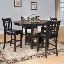 <strong>Woodbridge Home Designs</strong> Junipero 5 Piece Counter Height Dining Set