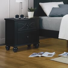 <strong>Woodbridge Home Designs</strong> Sanibel 2 Drawer Nightstand