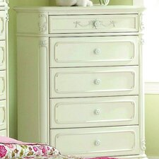 <strong>Woodbridge Home Designs</strong> 1386 5 Drawer Series Chest